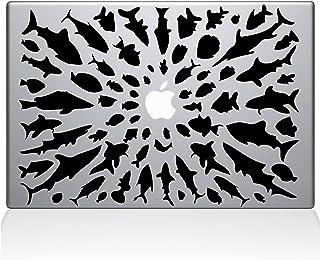 "The Decal Guru Think Different Macbook Decal Vinyl Sticker - 15"" Macbook Pro (2016 & newer) - Black (0147-MAC-15X-BLA)"