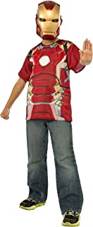 Rubie's Costume Avengers 2 Age of Ultron Child's Iron Man Mark 43 T-Shirt and Mask, Small