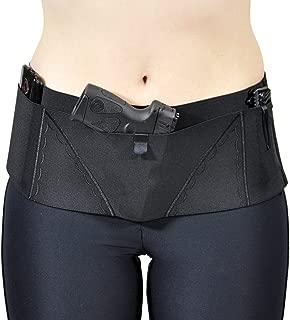 Can Can Concealment Hip Hugger Big SheBang Woman's Holster - Black - Medium 35