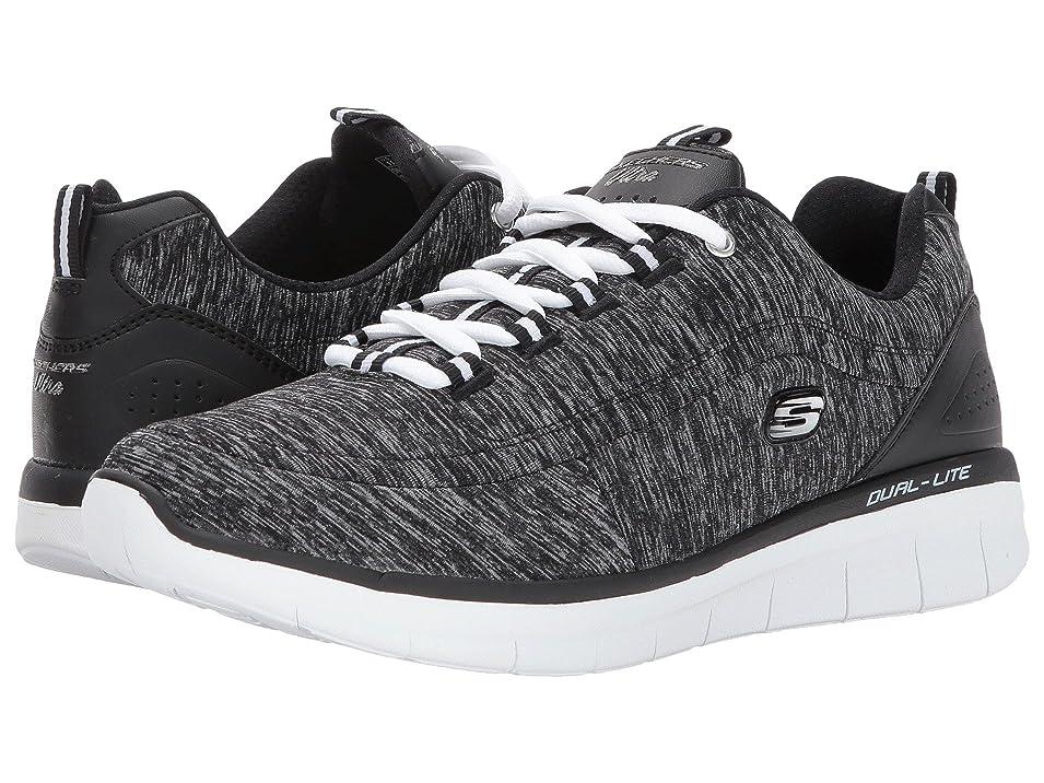 剃る均等に月曜レディーススニーカー?ウォーキングシューズ?靴 Synergy 2.0 - Headliner Black/White 9.5 (26.5cm) B [並行輸入品]