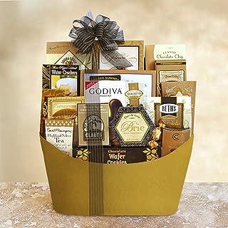 Golden VIP Gourmet Gift Basket