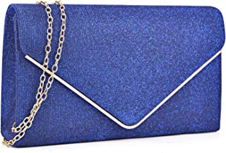 Women Glistening Clutches Handbags Evening Bags Wedding Purses Cocktail Prom Party Clutches