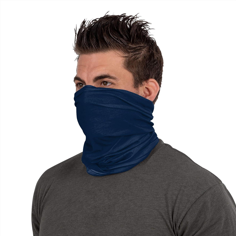 NFL FOCO Dallas Cowboys Neck Gaiter, One Size, Mini Print Logo : Clothing