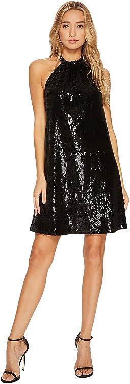 Bishop + Young - Sequin Halter Dress