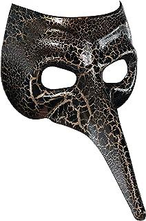 amscan Venetian Raven Mask Black