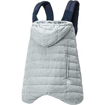 BABYHOPPER ベビーホッパー(BABYHOPPER) ダウン90% 抱っこひも 防寒 カバー エルゴ ウインターマルチプルダウンカバーメランジ/グレー ベビーカーでも使える CKBH04024 0か月~