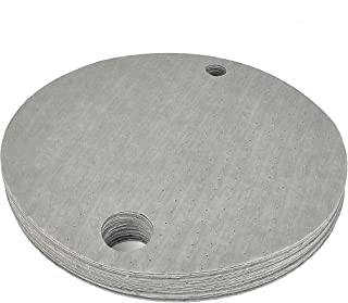 "LT019 Heavywight Oil Absorbent Pad, Drum Top Mat for 55 Gal Oil Drum, Keep Drum Tops Clean Absorbent mat 22"" Diameter, Gray Absorbs Oil-Based Liquids"