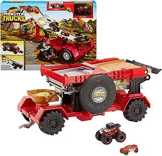 Hot Wheels Monster Trucks Downhill Race & Go Playset