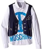 Moschino Kids - Printed Shirt (Big Kids)
