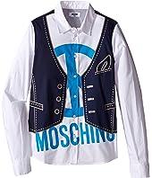 Moschino Kids - Printed Shirt (Big Kids)