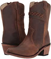 Old West Kids Boots - Fashion Zipper (Toddler/Little Kid)