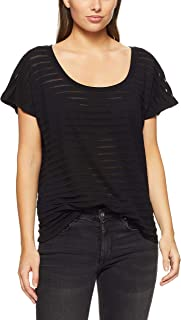 French Connection Women's Burnout Stripe TEE