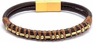 Inspirational Warrior Morse Code Leather Bracelets for...