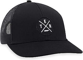 Ten Hat – Tennessee Trucker Hat Baseball Cap Snapback Golf Hat (Black)