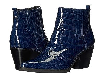 Sam Edelman Winona (Baltic Navy Soft Croco Patent Leather) Women