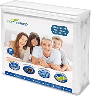 Premium Bed Mattress Protector Topper For Any Size Cover - Twin, Full, Queen, California King, or King - Trusted Sheets Protection - Waterproof, Bed Bug Proof, Urine Proof - Hypoallergenic (FULL XL)