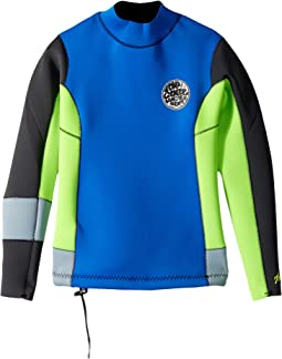 Rip Curl Kids - Aggrolite Long Sleeve Jacket (Big Kids)
