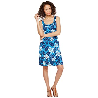 Tommy Bahama Olympias Blooms Short Dress (Download Blue) Women