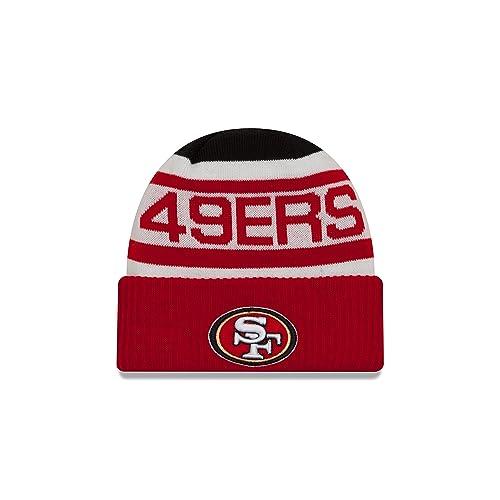 03f2ae56450 New Era NFL Unisex NFL Biggest Fan 2.0 Cuff Knit Beanie