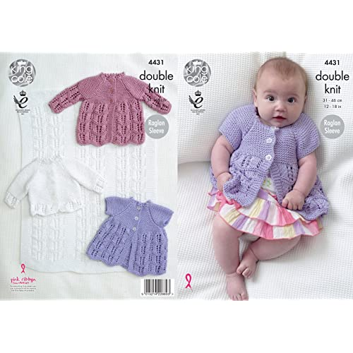 2866d086c Baby Girl Knitting Patterns  Amazon.co.uk
