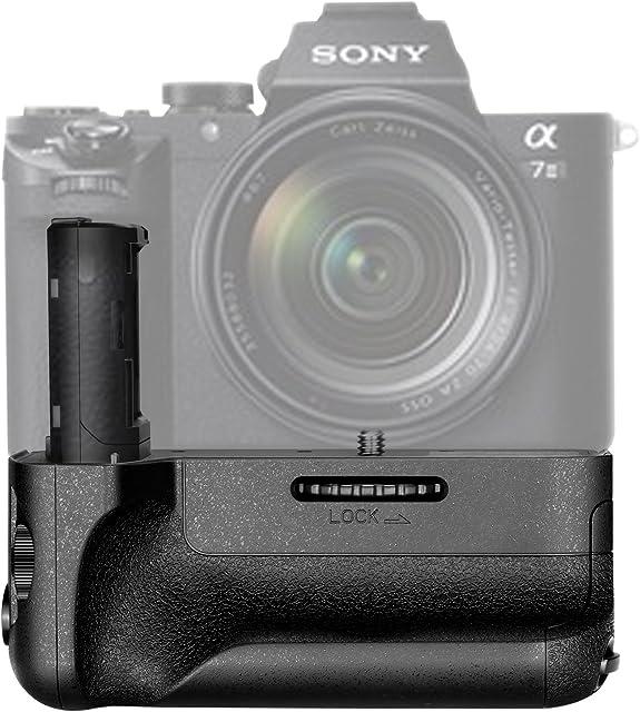 Neewer® Vertical Battery Grip (Reemplazo para Sony VG-C2EM) Funciona con NP-FW50batería para Sony A7II Cámaras y A7R II