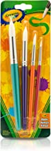 Crayola Big Paint Brushes (4 Count Round), Great for Kids
