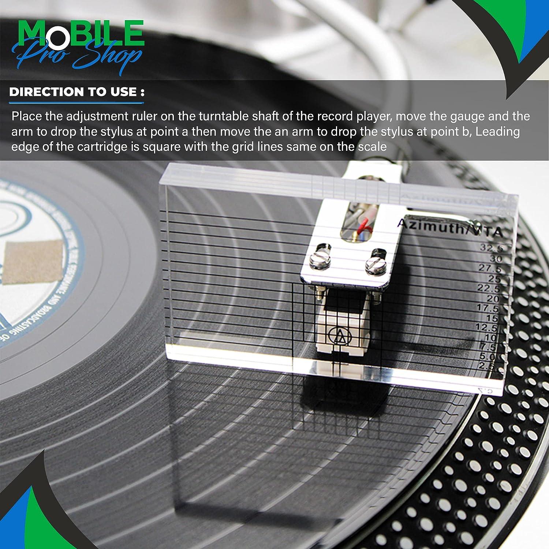 VTA Cartridge Azimuth Alignment Ruler for Vinyl Record