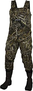 COMPASS 360 Rogue 3.5mm Camo Neoprene Chest Wader Bottomland