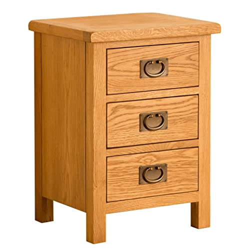 Oak Bedside Tables: Amazon.co.uk