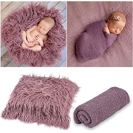 Newborn Baby Photo Props Long Ripple Wraps Blanket Outfits Photography Boy Girl