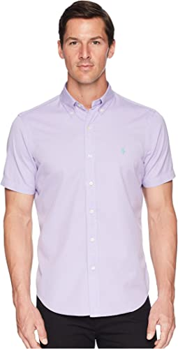 Garment Dyed Chino Short Sleeve Sport Shirt