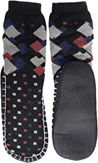 ea8728f9ce Devil Men's Wool Adult Long Thick Thermal Winter Warm Hiking Slippers/Boot  Socks (Multicolour