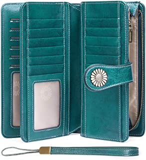 Women's Wallets, Large Capacity with RFID Blocking,...