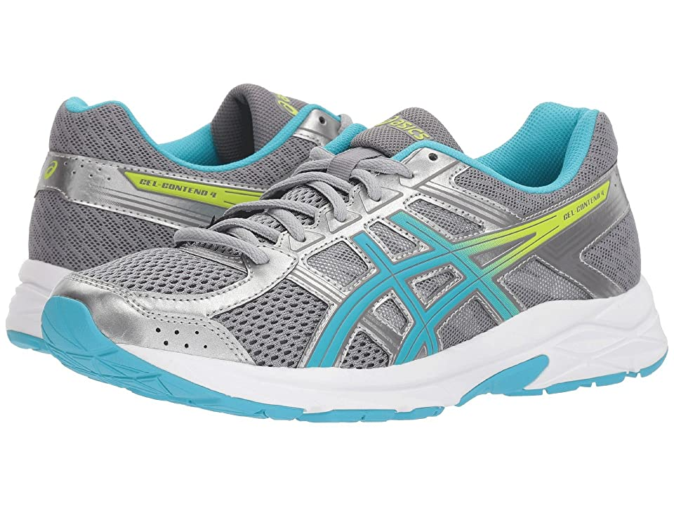 ASICS GEL-Contend 4 (Silver/Aquamarine/Sharp Green) Women