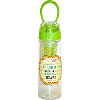 Divinity Boutique 24166 Infused Water Bottle Woman Of Faith Multicolor