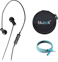Final Audio E3000 in-Ear Monitor Headphones Bundle with Blucoil 6-Ft Audio Extension Cable and Portable Earphone Hard Case