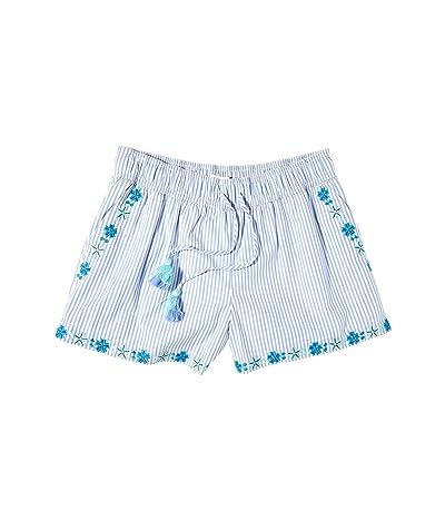 Vineyard Vines Pop EMB Pull-On Shorts (Ocean Reef) Women