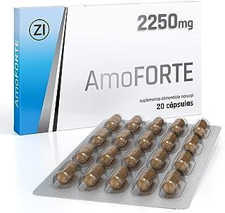 comprar comparacion Amoforte 2250 mg - Mejora la resistencia de manera natural - Para una vida amorosa plena - Acción instantanea - 20 Cápsulas