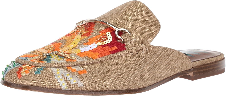 Nine West Womens Willona Linen Loafer Flat