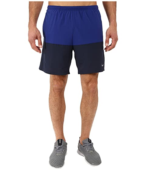 Big Discount Nike 5 Distance Shorts - Silver