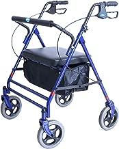 invacare four wheel rollator walker