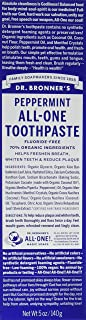 Dr. Bronners Toothpaste Peppermint 5 Ounce (Pack of 2)