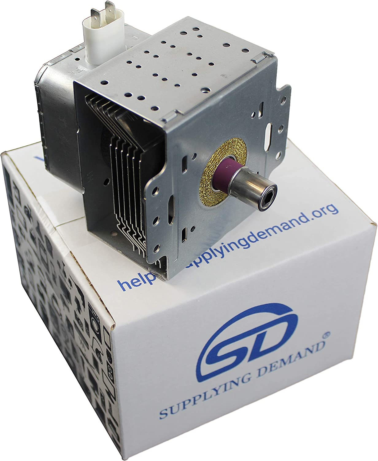 Supplying Demand 6324W1A001L 5304464072 Microwave Magnetron Replaces 5304472445 Compatible with Frigidaire