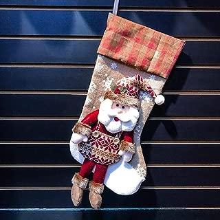 Happon Classic Christmas Stockings 18