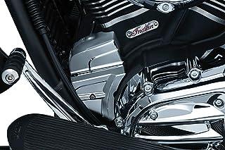 Kuryakyn 5642 Acessório de destaque para motocicleta: Capa de extremidade de partida para motocicletas indianas 2014-19, c...