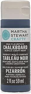 Martha Stewart Crafts 33494 Martha Stewart Multi-Surface Ink, 2 oz Chalkboard Paint