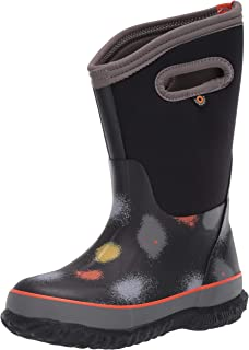 BOGS Kids' Classic Print Rainboot Waterproof Rain Boot
