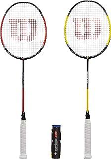 comprar comparacion Wilson Fluo Pro - Raquetas de bádminton y Volantes (Varias Opciones)