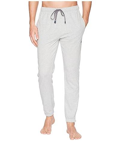 Original Penguin Lounge Pants Side Logo Tape (Light Grey Heather) Men