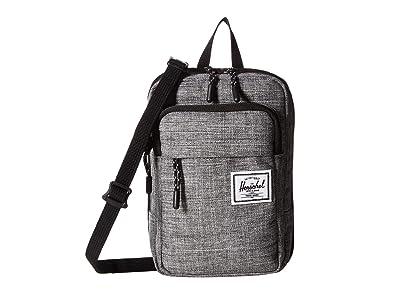 Herschel Supply Co. Form Crossbody Large (Raven Crosshatch) Cross Body Handbags